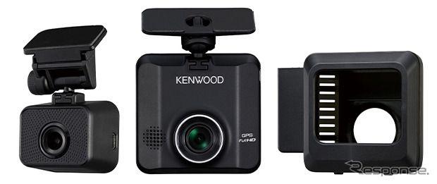 ケンウッド、レンタカー・カーリース車両向けの2カメラドラレコ発売へ