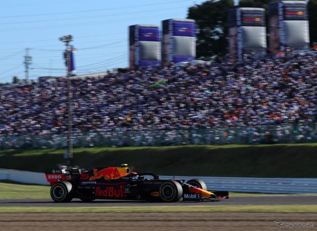 2019年のF1日本GP(鈴鹿サーキット)。《写真提供 MOBILITYLAND》