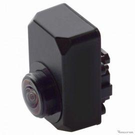 【トヨタ ヤリス 新型】パナソニックの昼夜対応サイドカメラを採用