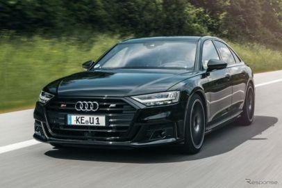 アプトがアウディ S8 新型をカスタマイズ、加速はスーパーカーに匹敵…欧州発表