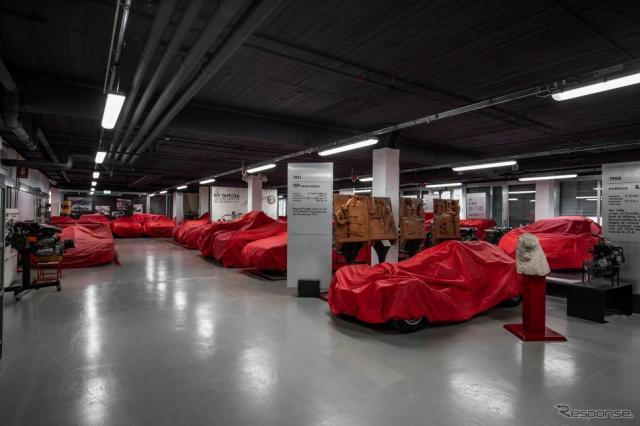 アルファロメオ博物館の秘蔵コレクション《photo by Alfa Romeo》