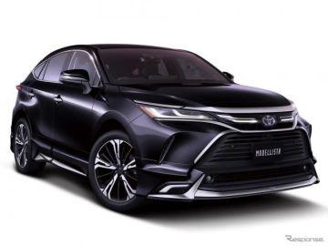 【トヨタ ハリアー 新型】2つのスタイル、モデリスタのカスタマイズアイテム