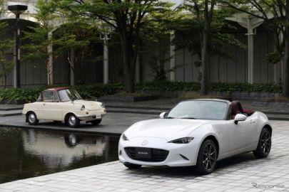 【マツダ ロードスター 100周年特別記念車】ソフトトップモデルは R360クーペ へのオマージュ[詳細画像]