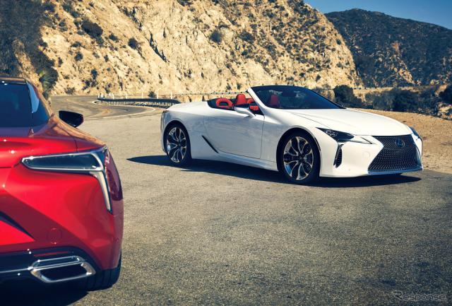 レクサス LC 改良新型《写真提供 トヨタ自動車》