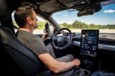 フォード マスタング EV、高速道路でハンズフリー走行が可能に…前方を注視しないと自動減速