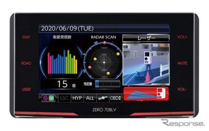 コムテック、超高感度GPSレーザー&レーダー探知機を近日発売…受信性能150%アップ
