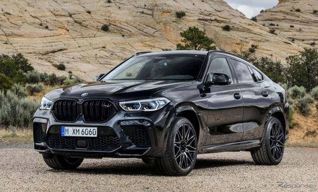 BMW X6 M 新型《photo by BMW》