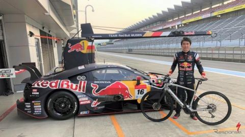 SUPER GT参戦の笹原右京、スペシャライズド 最新e-Bikeのアンバサダーに就任
