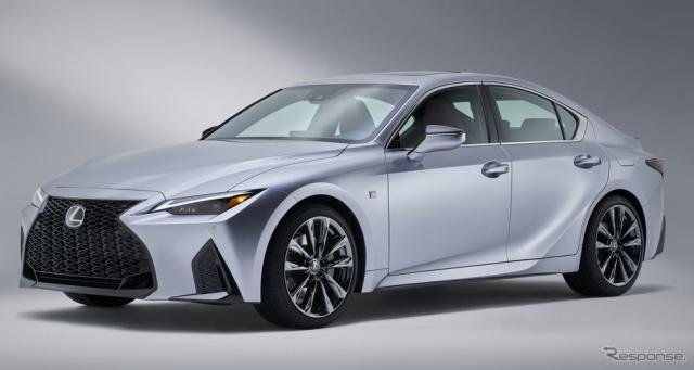 レクサス IS 改良新型(北米仕様)《photo by Lexus》