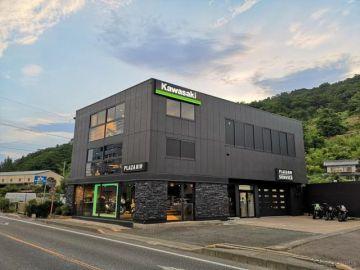 県内初のカワサキ専門店「カワサキプラザ長野」長野市にオープン