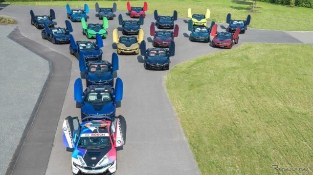 BMWのPHVスポーツカー『i8』、最終モデルを出荷