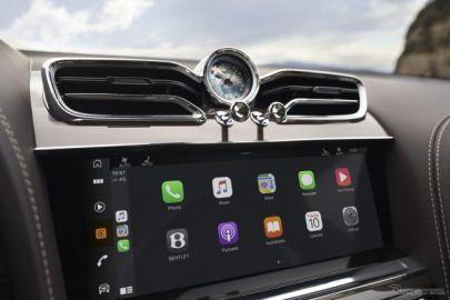 ベントレー ベンテイガ 改良新型、最新のインフォテインメント搭載…欧州仕様