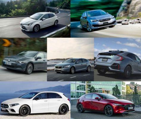 【人気ハッチバック まとめ】ゴルフ新型など7車種…価格や試乗記、デザイン