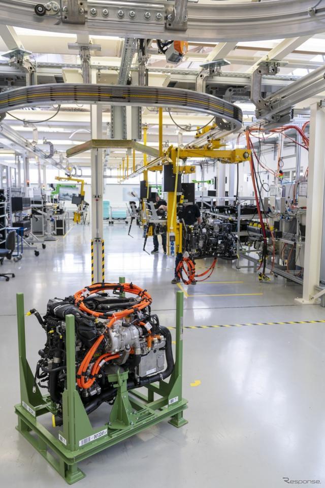 ダイムラートラックの燃料電池の量産に向けた準備《photo by Daimler Truck》