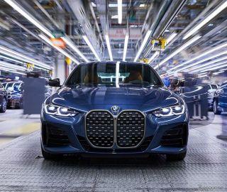 BMW 4シリーズ クーペ 新型、生産開始…10月欧州発売