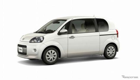 トヨタ ポルテ/スペイド、安全・安心装備充実の特別仕様車を設定
