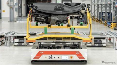 ポルシェ、自動運転の無人輸送ロボット企業を買収