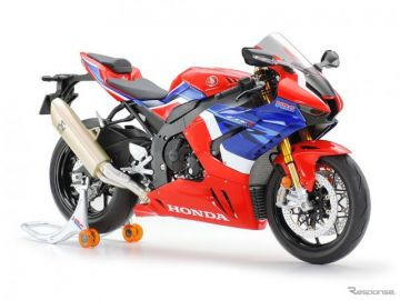 タミヤ、「ホンダ CBR1000RR-R FIREBLADE SP」1/12スケールモデル発売へ
