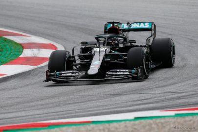 【F1 オーストリアGP】2020年シーズンが開幕、フリー走行2はハミルトンがトップタイム