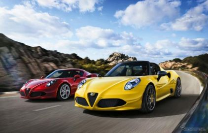 【アルファロメオ 4C/4Cスパイダー まとめ】コンセプトは手の届くスーパーカー…走りやデザイン、試乗記