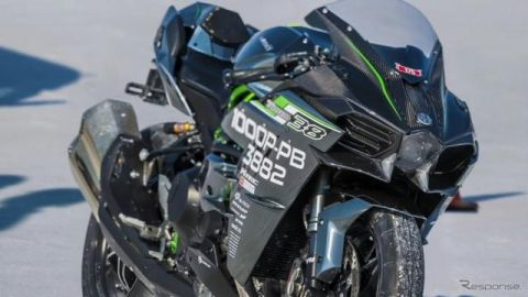 カワサキ Ninja H2、世界最速記録337km/hを樹立したマシン…ブランドムービー最新作