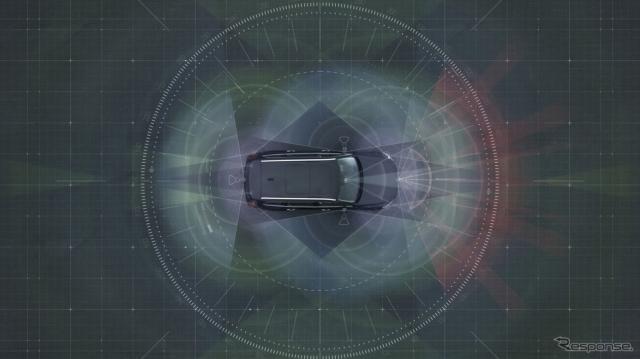 ボルボカーズの自動運転技術のイメージ《photo by Volvo Cars》