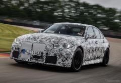 BMW M3セダン 次期型、パワーは480馬力と510馬力の2種類…プロトタイプの写真
