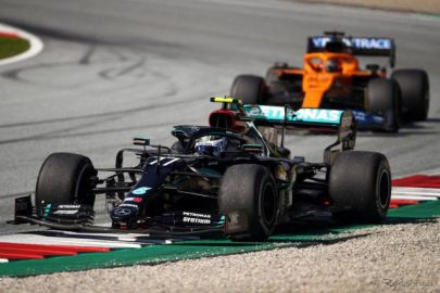 【F1 オーストリアGP】大波乱の開幕戦を制したのはボッタス、ノリスが初表彰台の3位