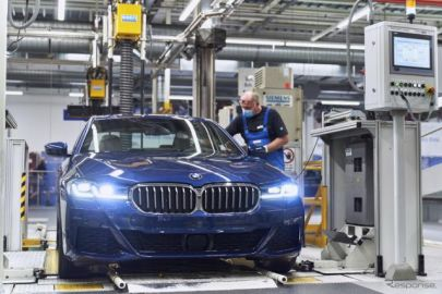 BMW 5シリーズ 改良新型を生産開始 7月中に欧州発売