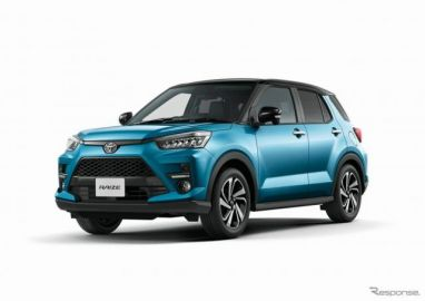 トヨタの新型SUV『ライズ』、2020年上半期新車登録ランキングでトップ