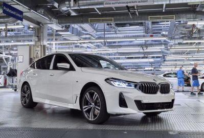 BMW 6シリーズ・グランツーリスモ 改良新型、生産開始…7月中に欧州発売