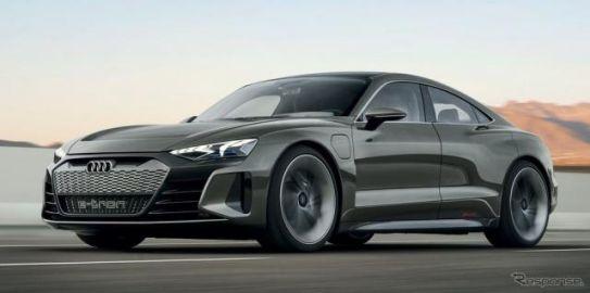 アウディから新型EVスポーツカー、『e-tron GT』 2021年発表へ