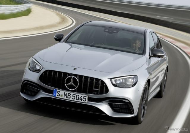 メルセデスAMG E63 S 4MATIC+セダン 改良新型《photo by Mercedes-Benz》