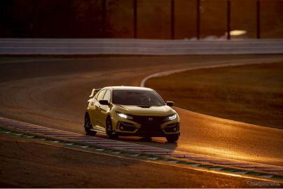 シビックタイプR 改良新型、リミテッドエディションが鈴鹿最速ラップを記録