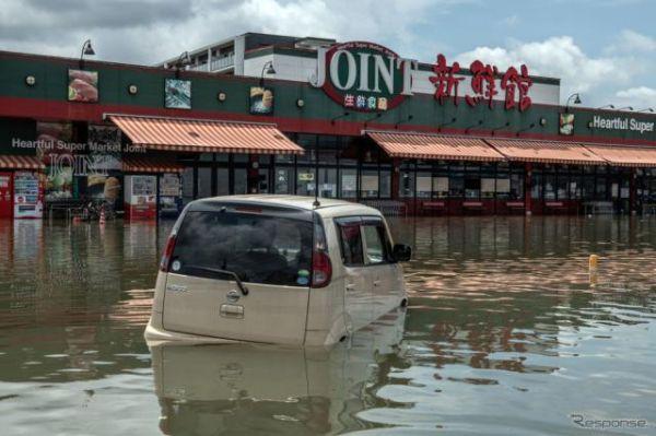 豪雨被災地の車検有効期間延長---福岡県と長野県を追加、期間も8月4日まで延長