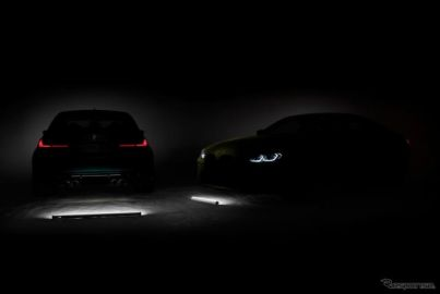 BMW M3 と M4 新型、9月半ばのワールドプレミアが決定