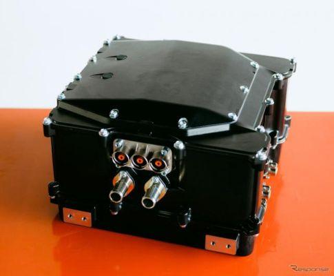800VシステムEV対応のSiCインバータ、GLMがプロトタイプを完成