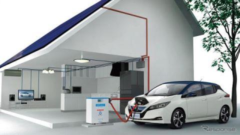 リーフ 購入で、太陽光発電無料設置と割安電気プランを提供 茨城日産など