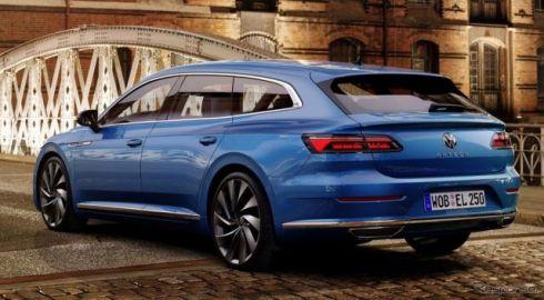 VW アルテオン に「シューティングブレーク」、予約受注を欧州で開始…価格は4万4387ユーロから