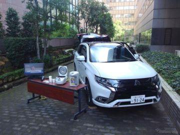 災害時に電動車両を移動式電源として活用 国交省がマニュアルを作成