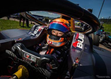 FIA-F2の新人・角田裕毅20歳、第2戦のレース1でポール発進から「悔しい」2位初表彰台