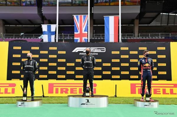 【F1 シュタイアーマルクGP】ハミルトンが自身85度目の優勝…レッドブル・ホンダのフェルスタッペンが3位表彰台