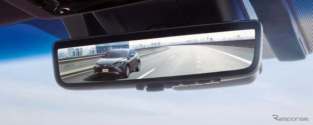 【トヨタ ハリアー 新型】「録画機能付きデジタルインナーミラー」を「ドラレコ」と呼ばない理由