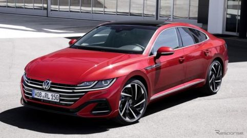 VW アルテオン 改良新型、予約受注を欧州で開始…4万3524ユーロから