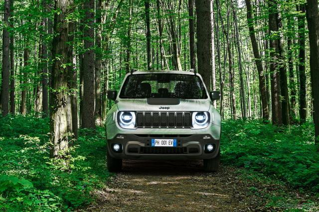 ジープ・レネゲード 4Xe《photo by Jeep》