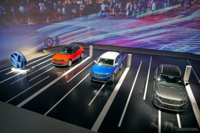 【VW T-Roc】日本発表…VGJ社長「日本の道に理想的なサイズ」 価格は384万9000円から