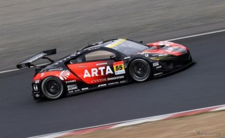 JVCケンウッド、SUPER GT GT300クラス参戦の「ARTA」に協賛