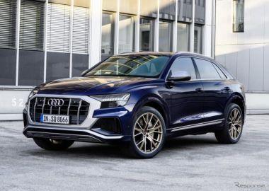 アウディ SQ8 にガソリン車、0-100km/h加速4.1秒…欧州発表