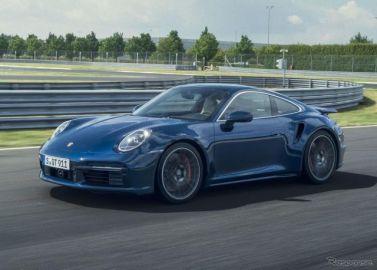 ポルシェ 911ターボ 新型、580馬力ツインターボ搭載…デジタルワールドプレミア