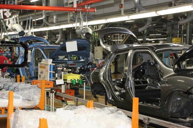 日産自動車追浜工場(参考画像)《写真提供 日産自動車》